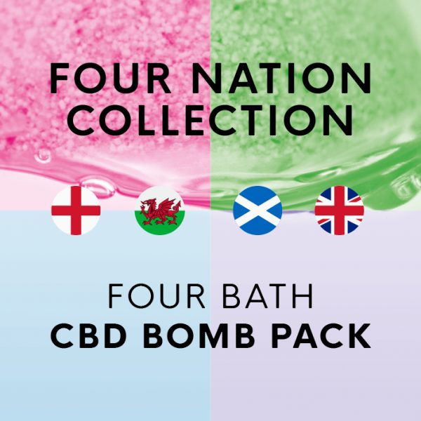 Four Nation Collection CBD Bath Bomb Pack
