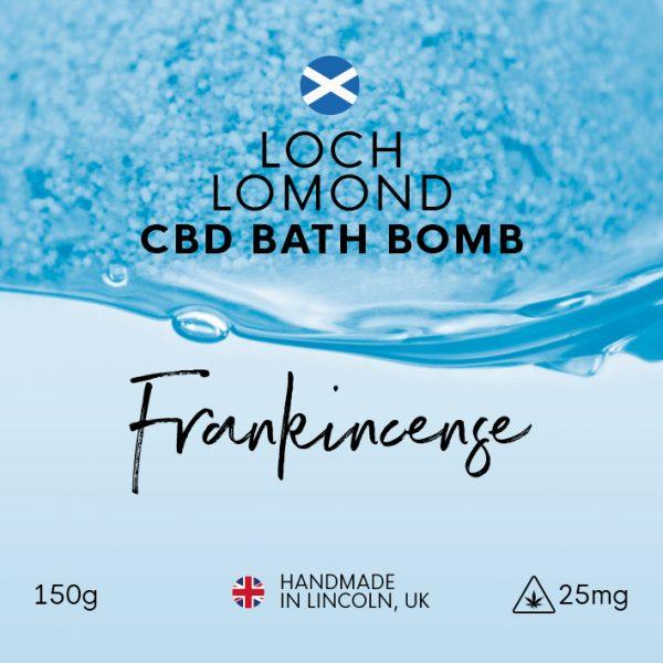 Loch Lomond Frankincense CBD Bath Bomb