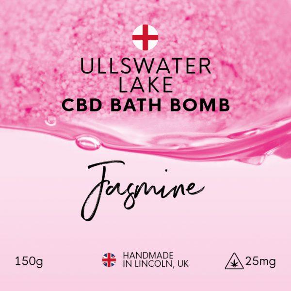 Ullswater Lake Jasmine CBD Bath Bomb