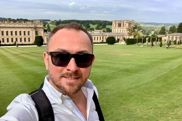 Chatsworth House Marc Selfie 1 Blog