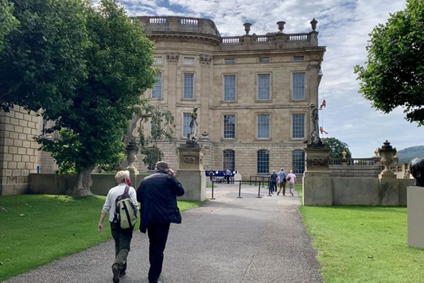 Entrance to a building Chatsworth House